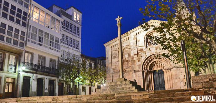 La Colegiata de Santa Maria del Campo, A Coruña
