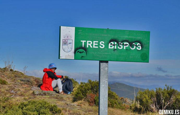 Ruta tres bispos Ancares de Lugo