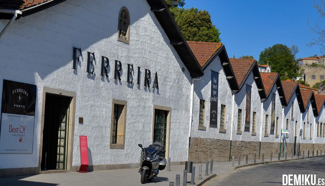 Visita Bodega Ferreira en Vilanova de Gaia, Oporto