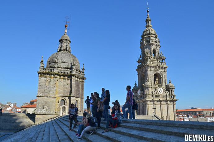 Visita guiada por las Cubiertas Tejados Catedral Santiago