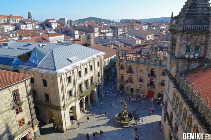 Cubiertas Tejados Catedral Santiago