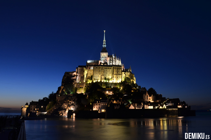 Anochecer Mont Saint Michel
