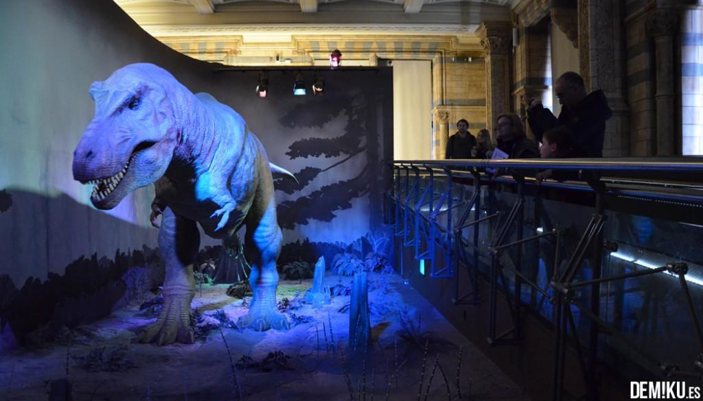 museo-historia-natural-Londres-tiranosaurio-rex