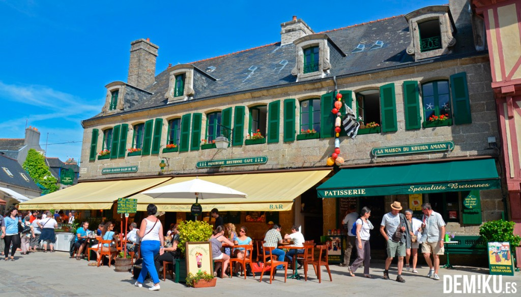 Concarneau , Bretaña (Francia)