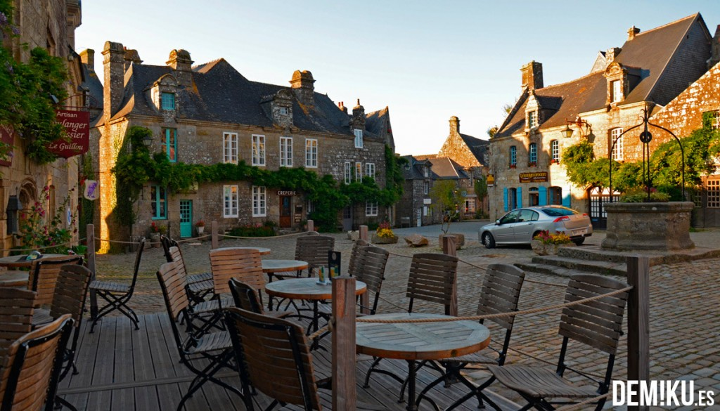 Locronan, Bretaña (Francia)