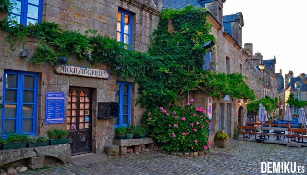 Locronan, hermoso pueblo de la Bretaña (Francia)