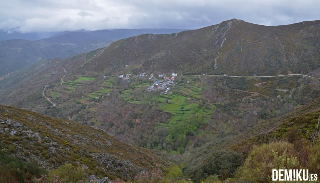 Soutipedre, aldea de montaña en Manzaneda, Ourense