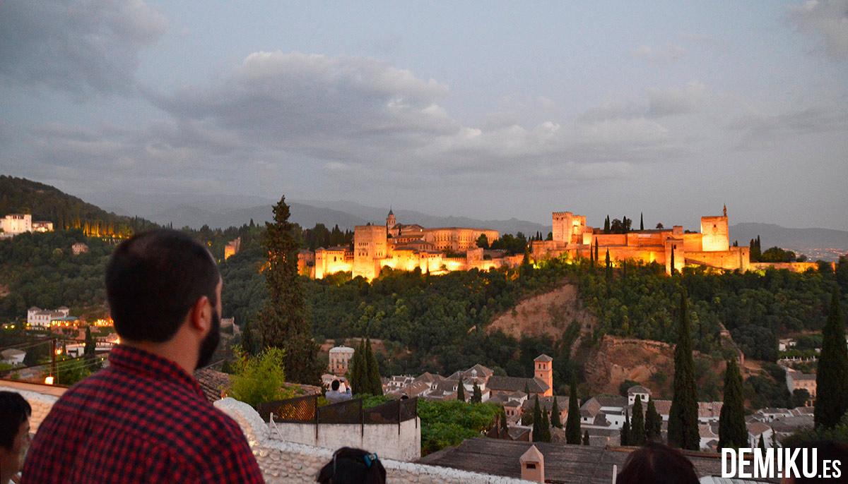 Mirador de San Nicolas en Granada: Alhambra
