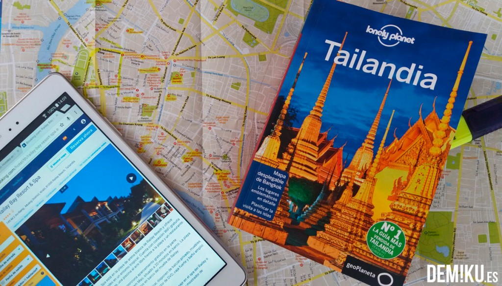 Preparativos viajar a Tailandia
