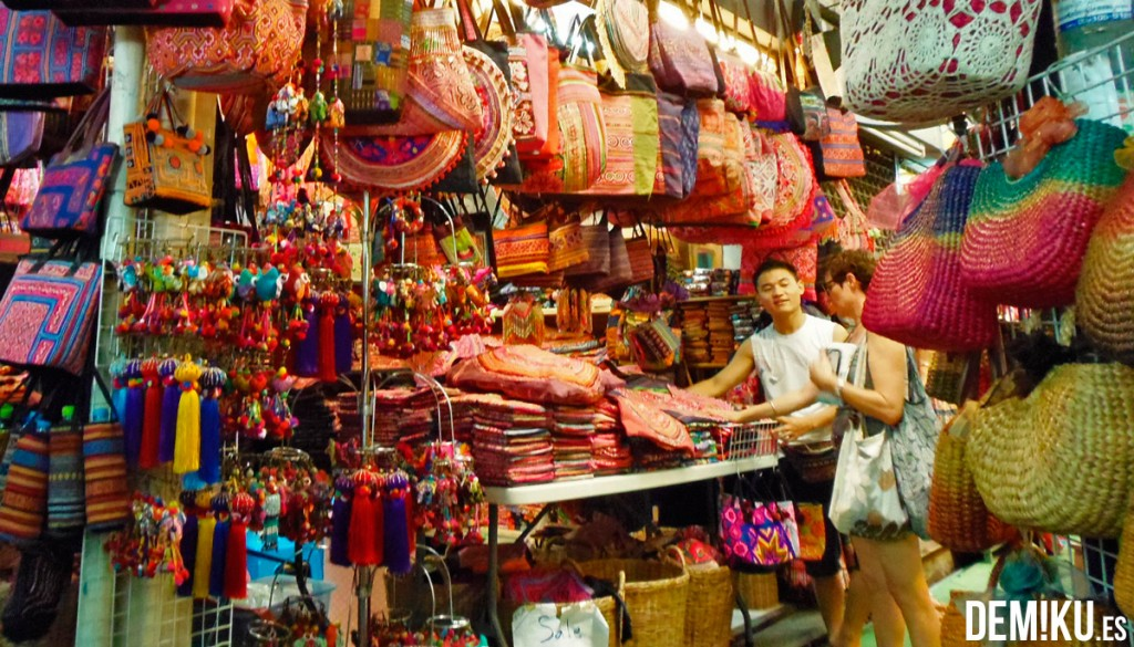 Mercado Chatuchak Bangkok