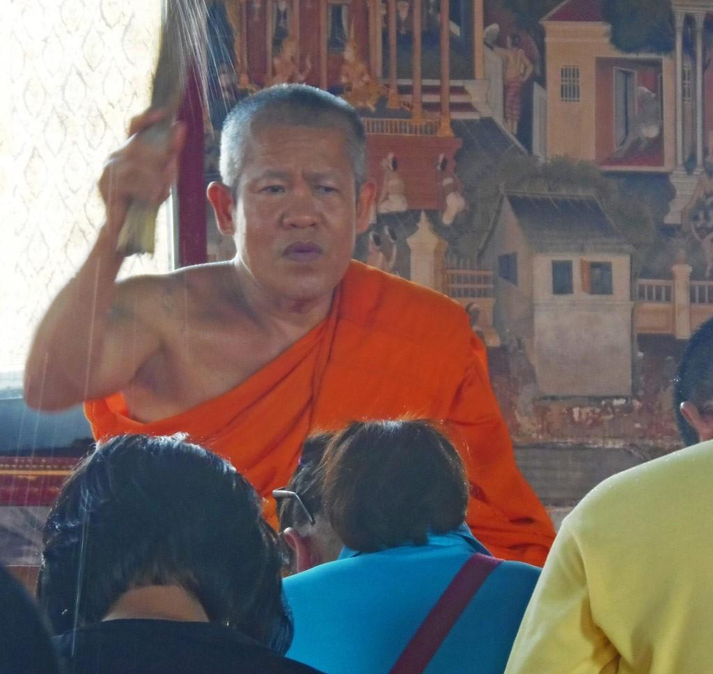 Monje Wat Arun Tailandia