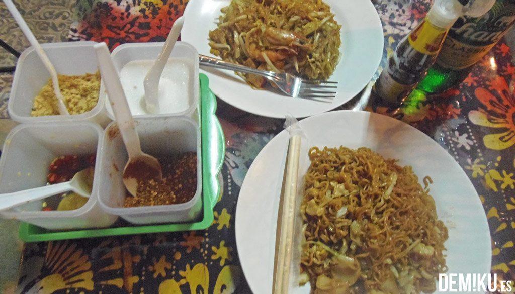 Comida Zona de Khao Sao