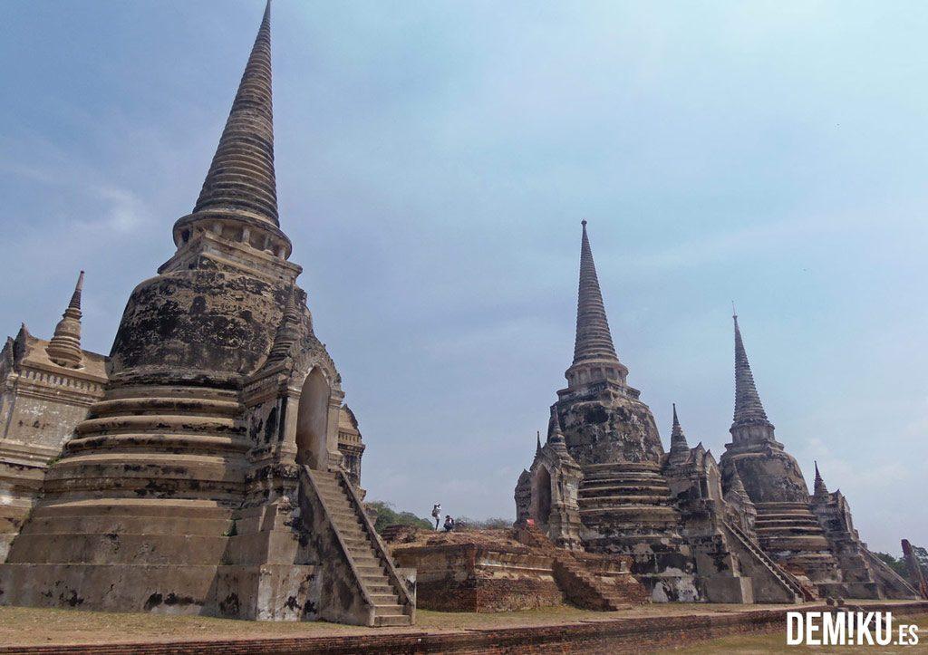 Estupas Wat Phra Si Sanphet