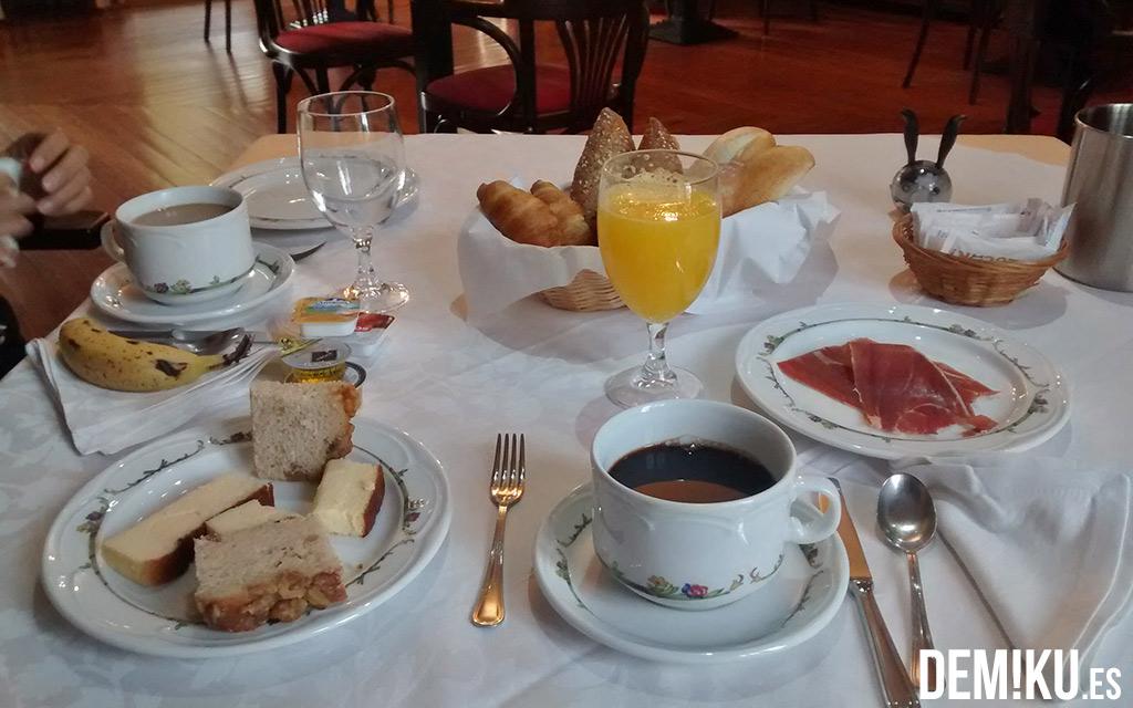 Desayuno Hotel Quinta Duro