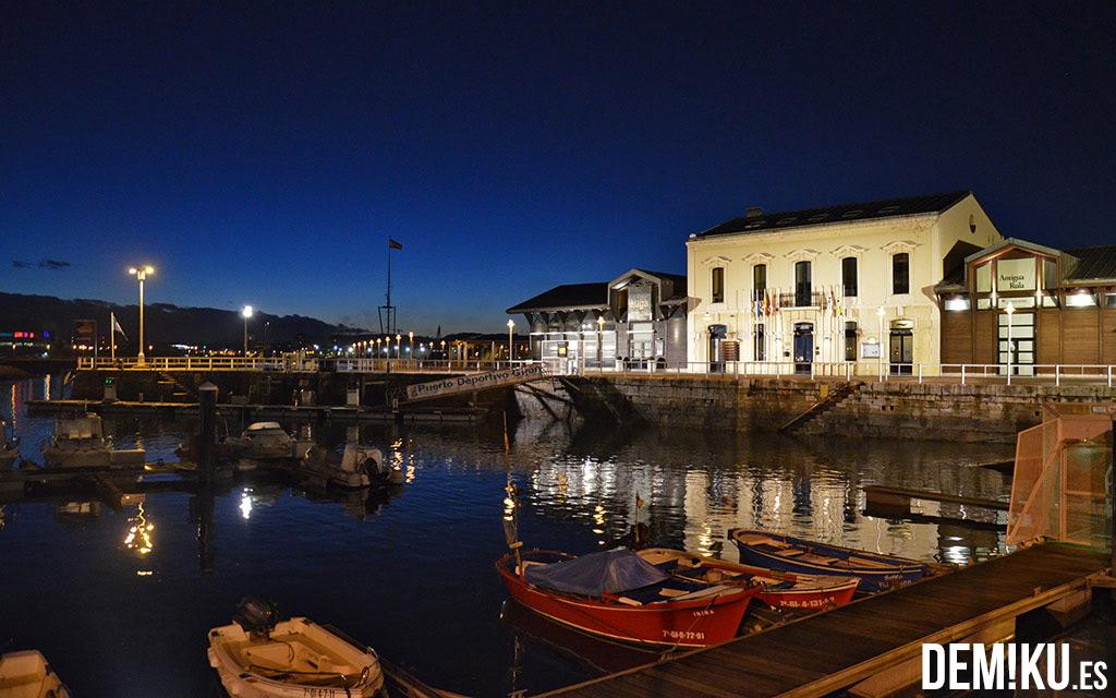 Puerto deportivo Gijón y Restaurante Auga