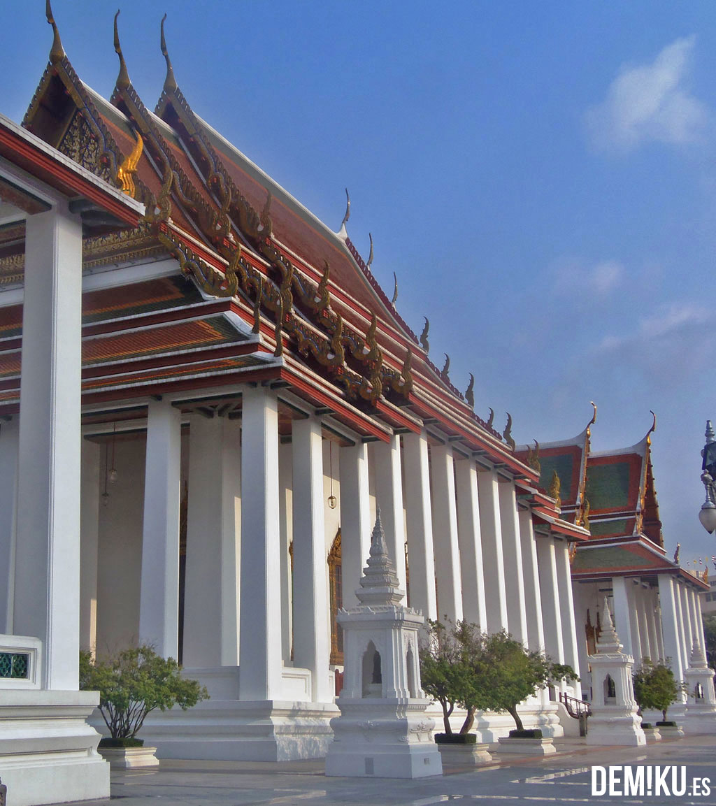 Bangkok Templo Wat Ratchanatdaram