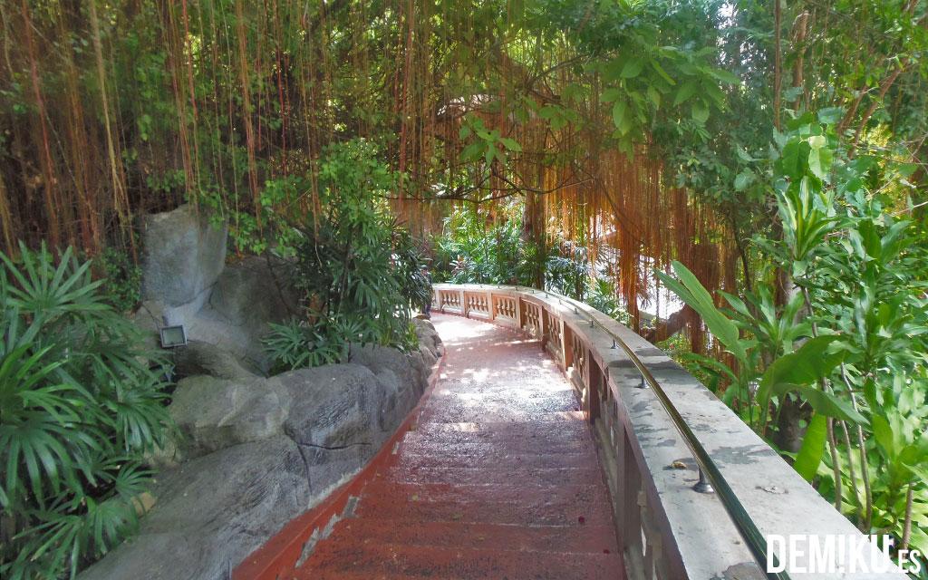 Subida al Monte Dorado, Bangkok (Tailandia)