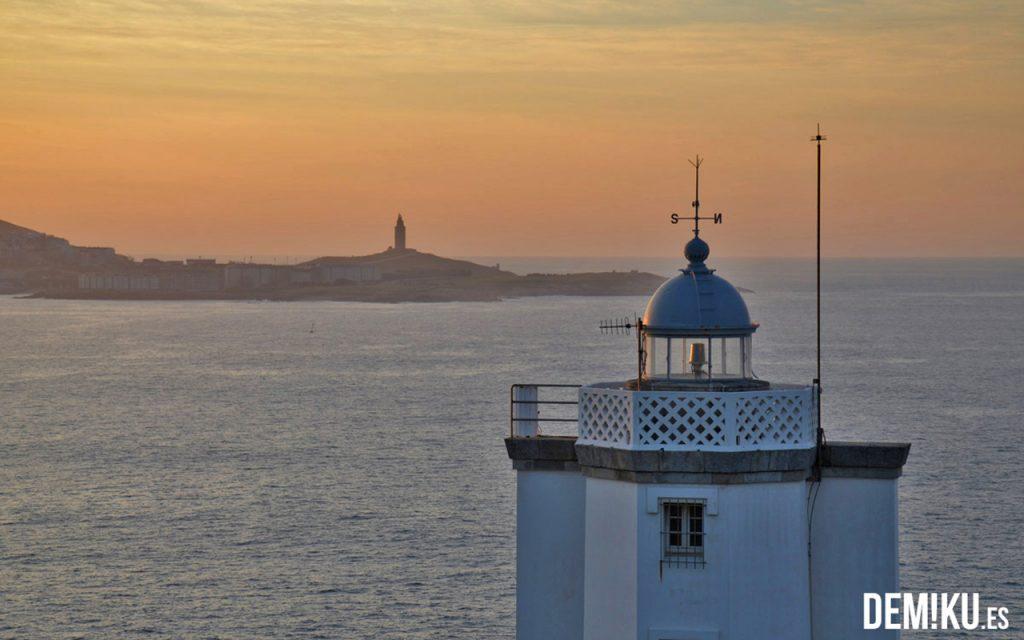 Faro de Mera y Torre de Hércules