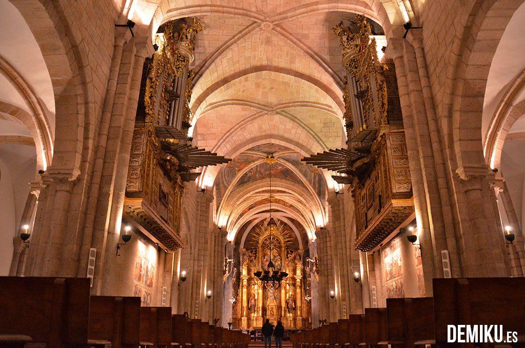 Interior de la Catedral de Mondoñedo