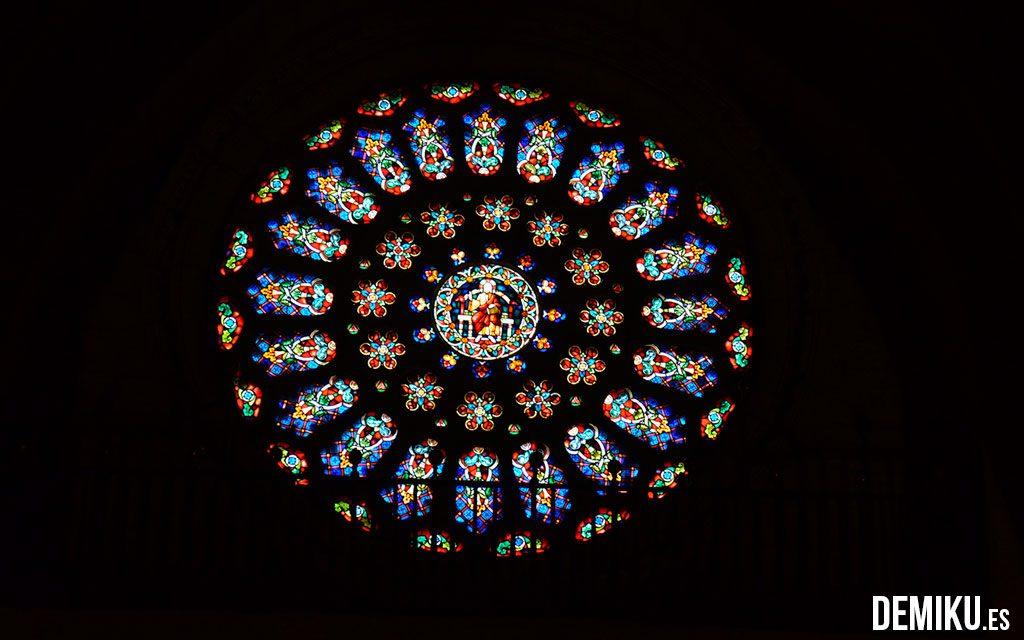 Rosetón de la Catedral de Mondoñedo