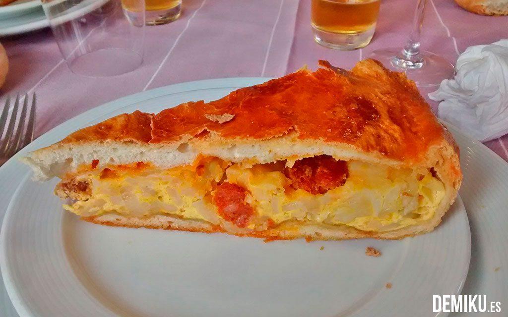 Empanada de Tortilla con chorizo