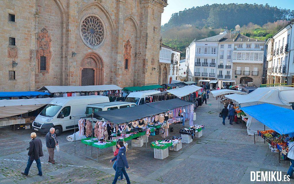 Feira tradicional en MOndoñedo