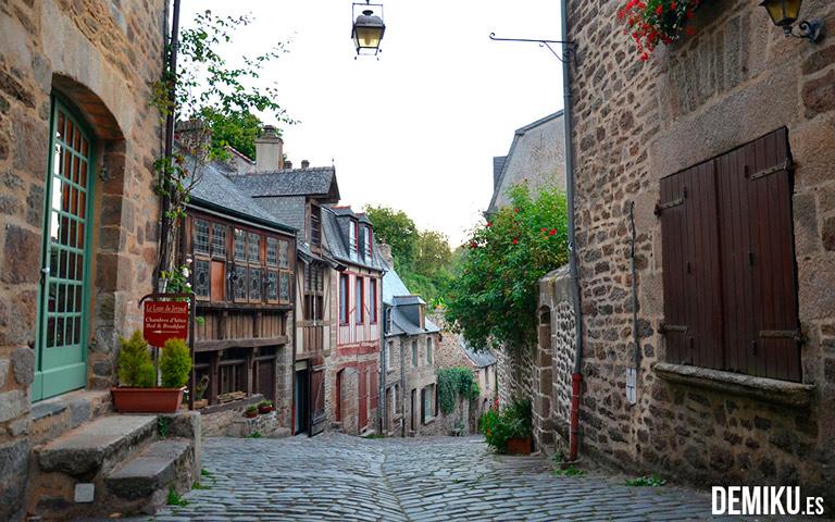 Precioso tramo de la Calle del Jerzual, Dinan