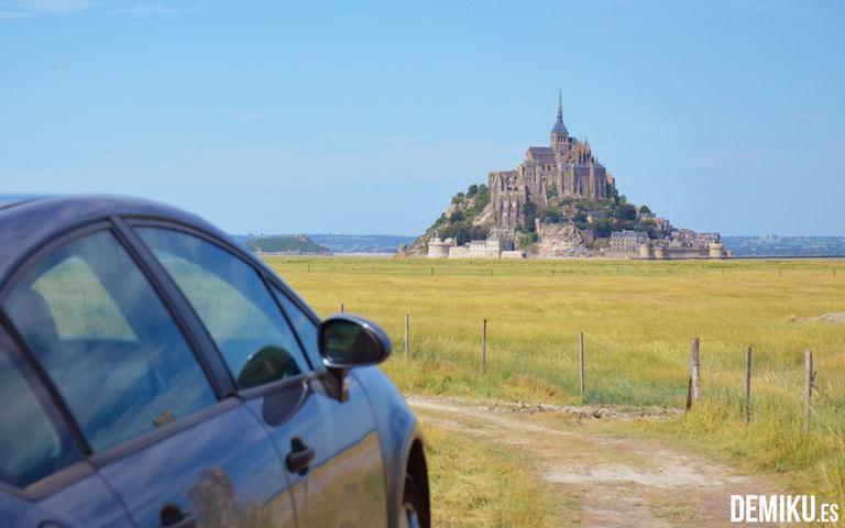 Por fin estábamos frente al Mont Saint Michel