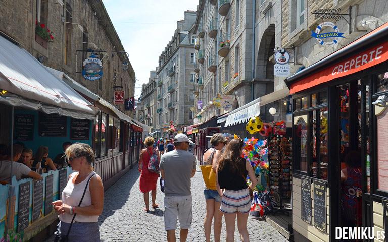 Comer en Saint-Malo