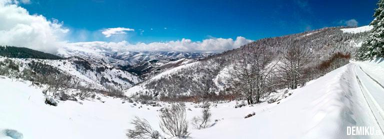 Nieve en Os Ancares (Cervantes - Lugo)