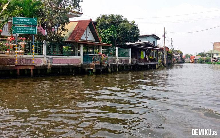 Canales de Bankok