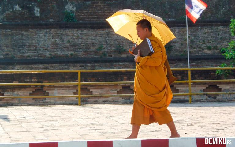 Monje Tailandia