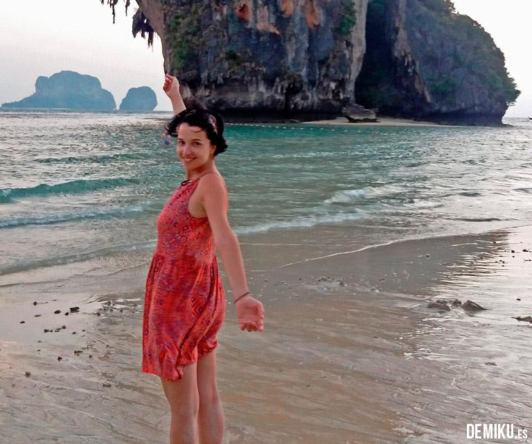 Puesta de sol Phra Nang 3