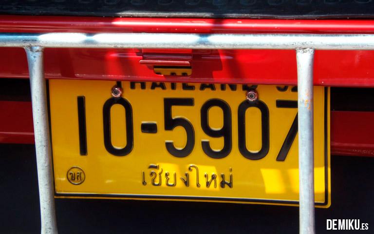 Taxi Tailandia